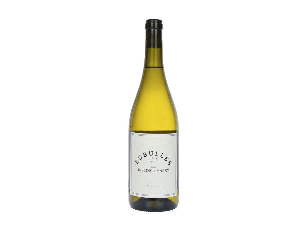 Bobulles - Ryzlink rýnsky 2019 - Bílé víno - Jakostní víno VOC