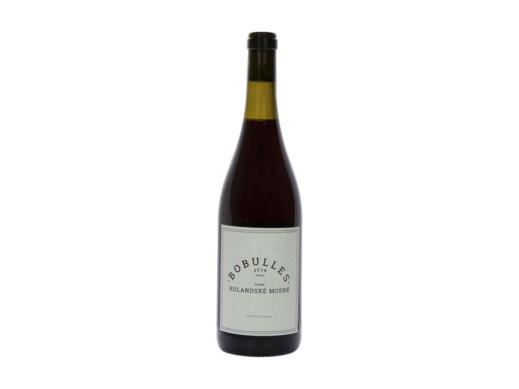 Bobulles - Rulandské modré 2019 - Červené víno - Jakostní víno VOC