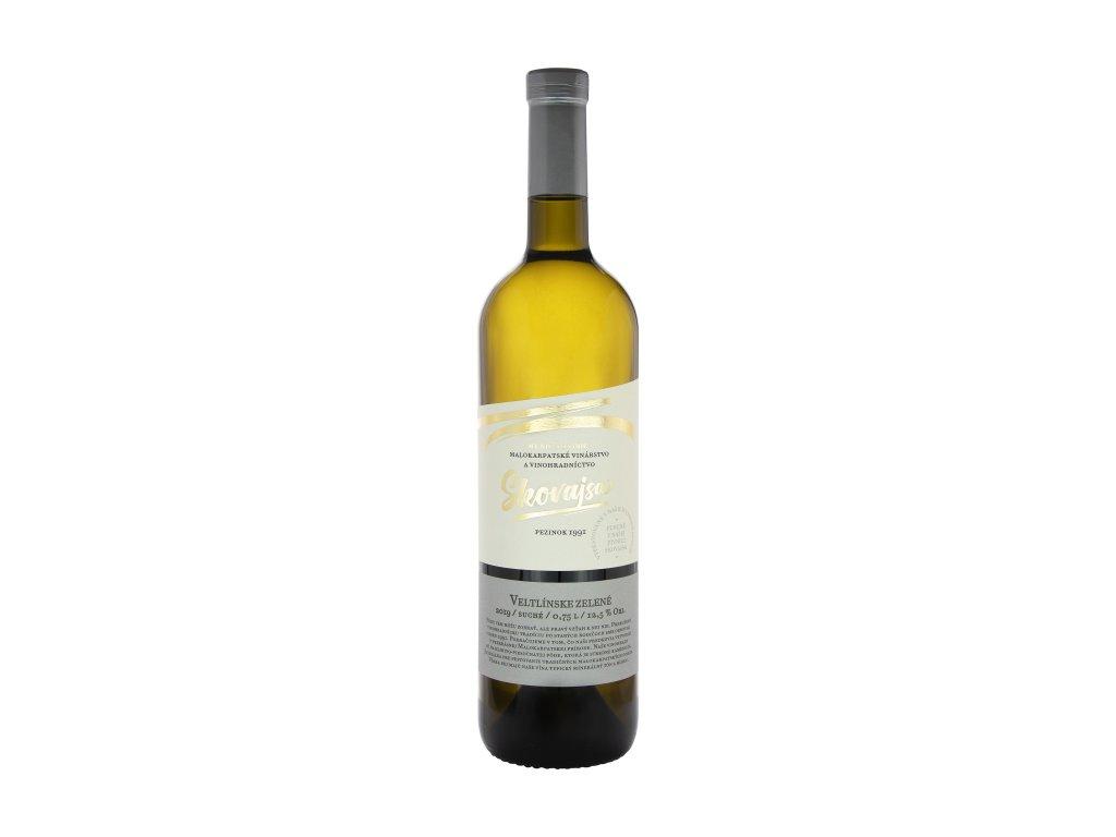Skovajsa - Veltlínske zelené 2019 - Bílé víno - Jakostní víno VOC