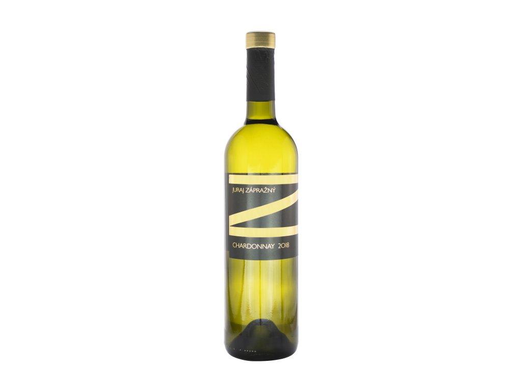 Zápražný - Chardonnay Ak,Suché - Bílé víno - Jakostní víno VOC