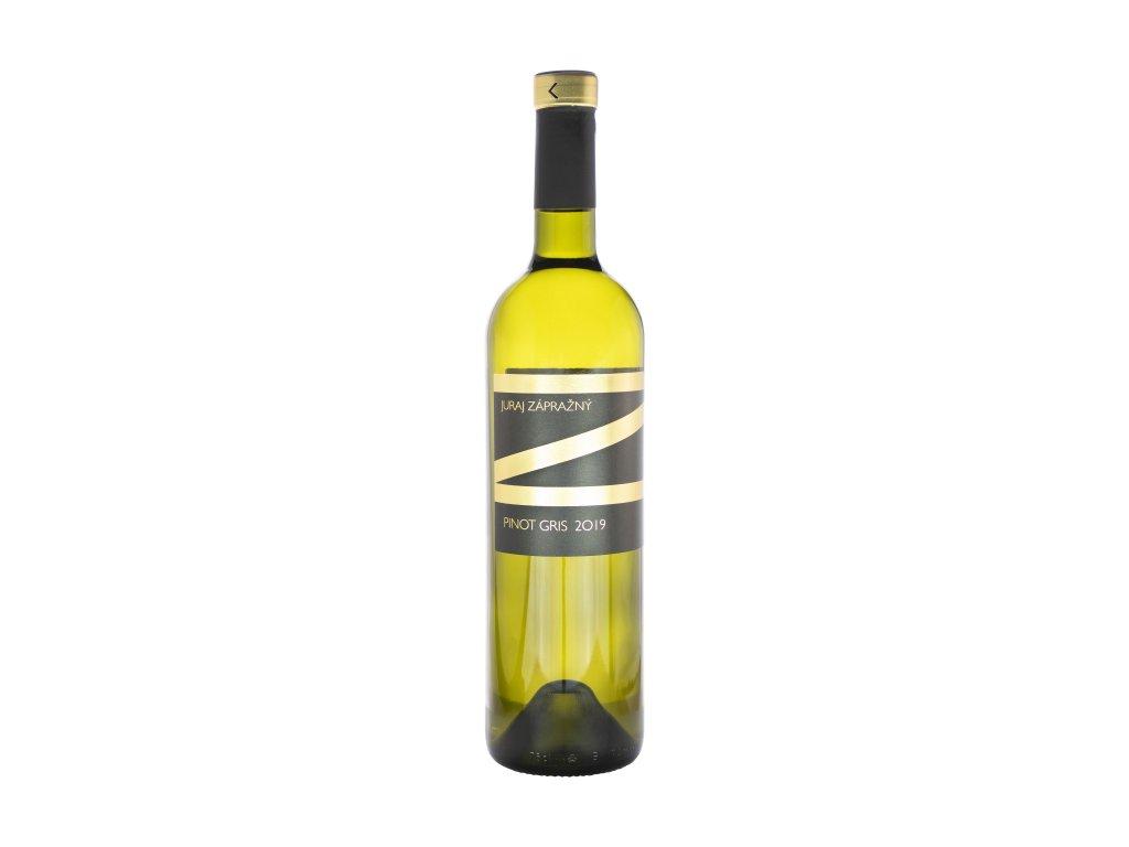 Zápražný - Rulandské Šedé,Ak. Suché - Bílé víno - Jakostní víno VOC