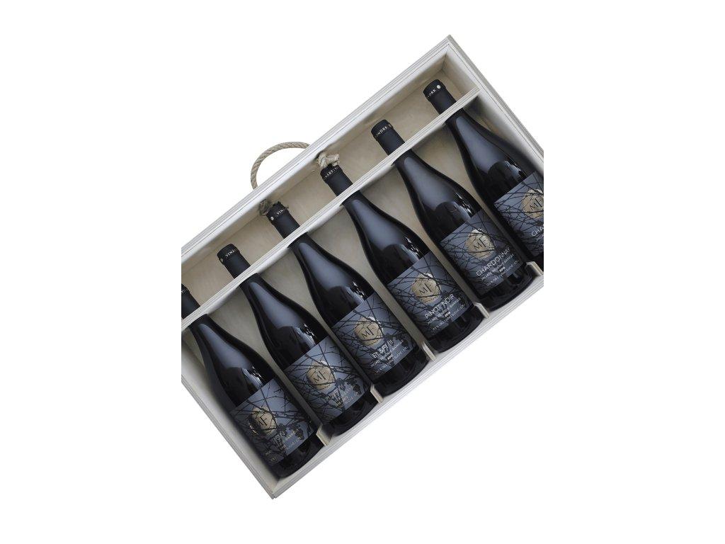 Miro Fondrk - 6 Private reservas box - SET-MIX - Jakostní víno