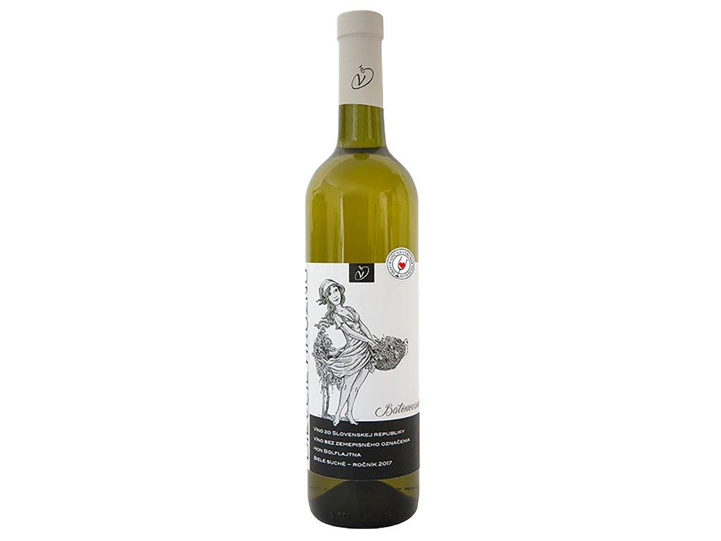 Dudo Miroslav - Dievčie hrozno 2017 - Bílé víno - Jakostní víno