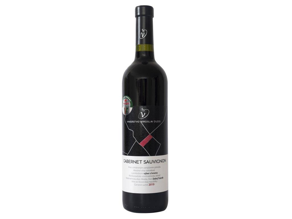 Dudo Miroslav - Cabernet Sauvignon 2019 - Červené víno - Výběr z hroznů