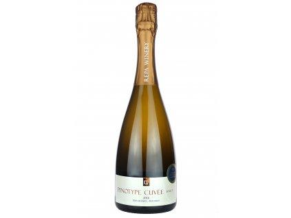 Repa Winery - Pinotype Cuvée Brut (Blanc de blancs) 2016 - Šumivé víno - Jakostní víno VOC
