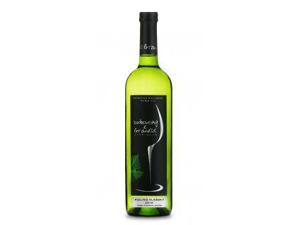 Dubovský & Grančič - Ryzlink vlašský 2016 - Bílé víno - Výběr z hroznů