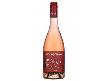 Dubovský & Grančič - Cabernet Sauvignon rosé - St. George - Premium 2020 - Růžové víno - Pozdní sběr