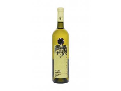 Cintavý a Pisarčík - Rizling vlašský VZH 2015 - Bílé víno - Výběr z hroznů