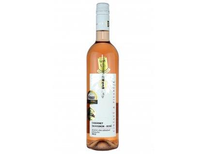 Cintavý a Pisarčík - Cabernet sauvignon rosé 2019 - Růžové víno - Jakostní víno VOC