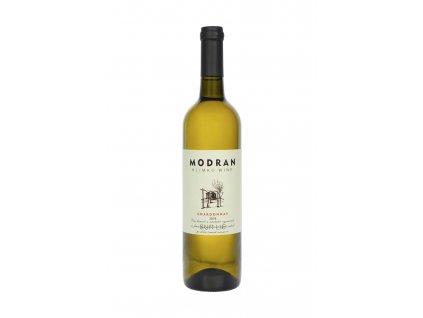 Modran Klimko Wine - Chardonnay 2018 - SUR LIE - Bílé víno - Jakostní víno