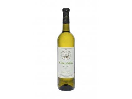 Fiala - Rizling vlašský 2018 - Bílé víno - Jakostní víno