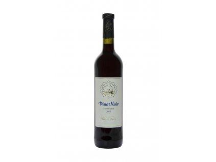 Fiala - Pinot noir 2018  - Červené víno - Jakostní víno