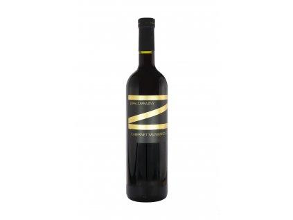 Zápražný - Cabernet Sauvignon 2017,Suchý - Červené víno - Jakostní víno VOC