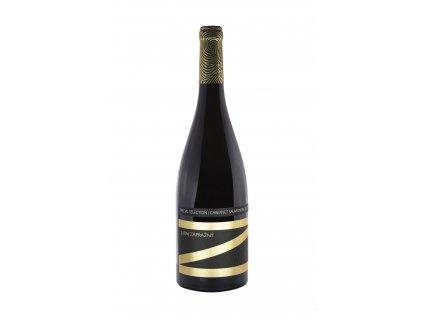 Zápražný - Cabernet Sauvignon 2017 - Barrique - Červené víno - Jakostní víno VOC