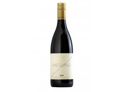 Miro Fondrk - Riesling  2019 - Bílé víno - Jakostní víno