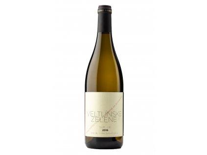 Miro Fondrk - Veltlínske Zelené 2016 - Sur Lie - Bílé víno - Jakostní víno