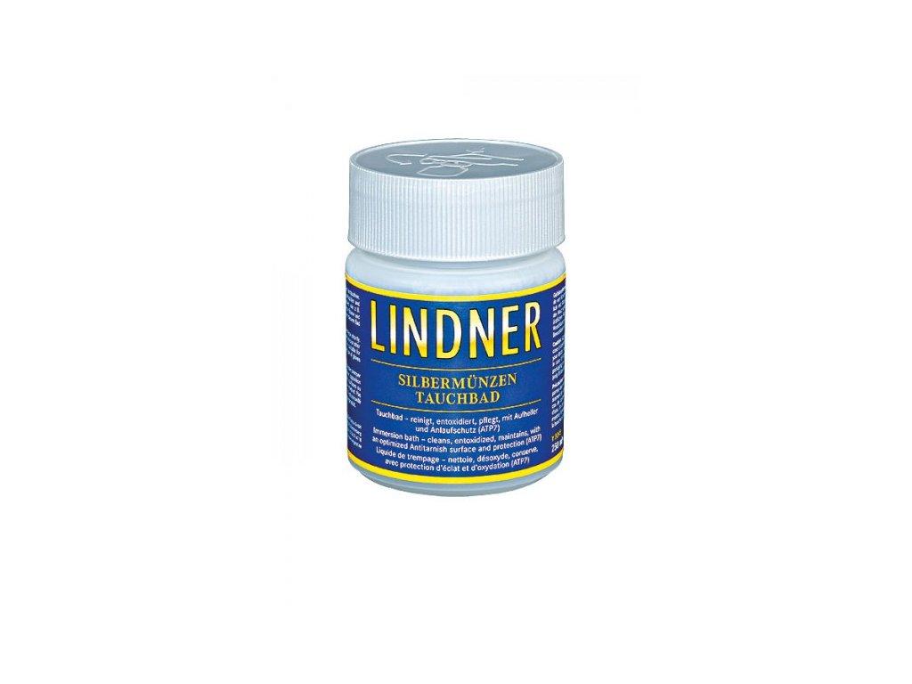 Čistič stříbrných mincí Lindner