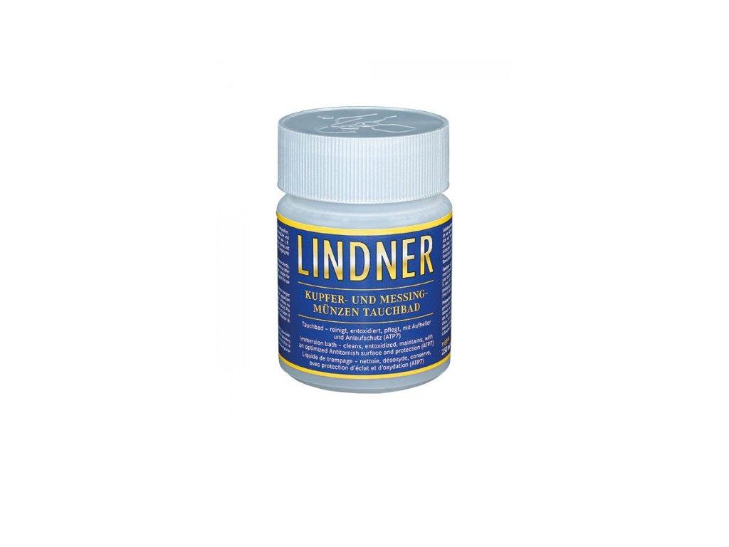 Čistič mincí Lindner, měď-mosaz