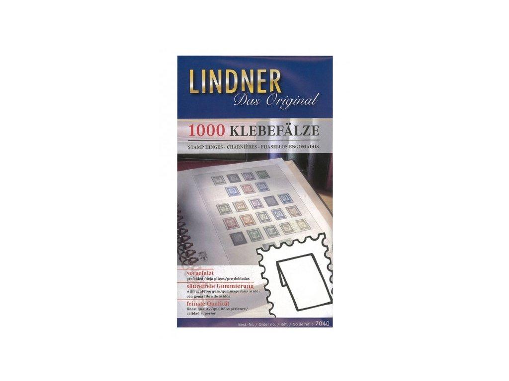 Nálepky Lindner, 1000 ks