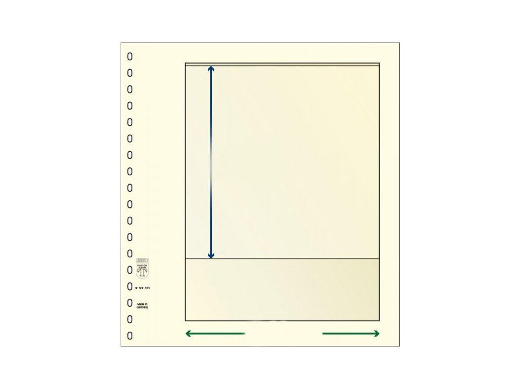 List Lindner T-Blanko, různé varianty