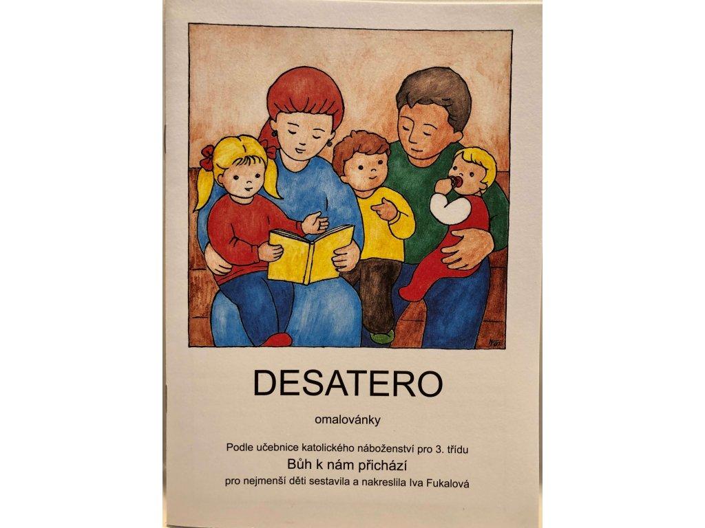 omalovanky Desatero 01