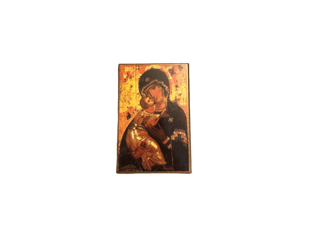 1274 Obrazek Panna Maria s ditetem M SlovoProTebe.cz Česvel