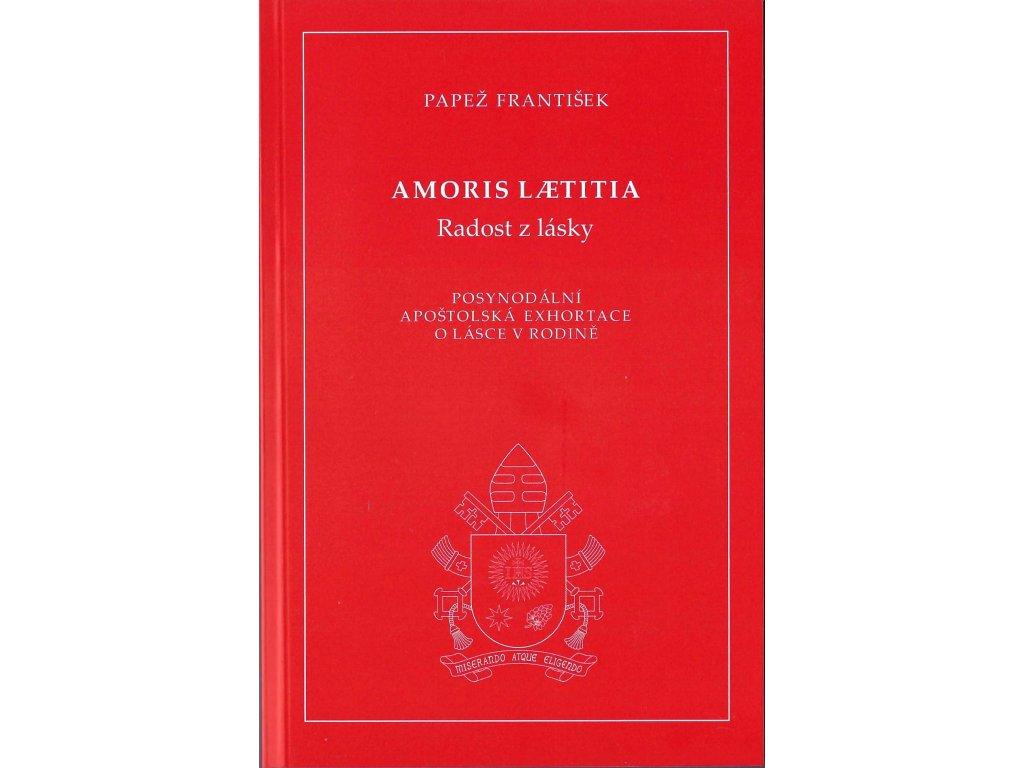 1324 slovoprotebe.cz Papež František Amoris Laetitia 9788074502255 01