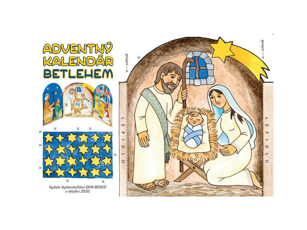 1430 Zaex Vystrihovaci Betlém a adventni kalendar