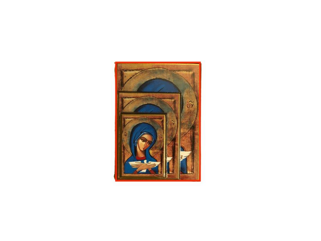 1450 Obrazek Panna Marie s holubici L SlovoProTebe.cz Česvel