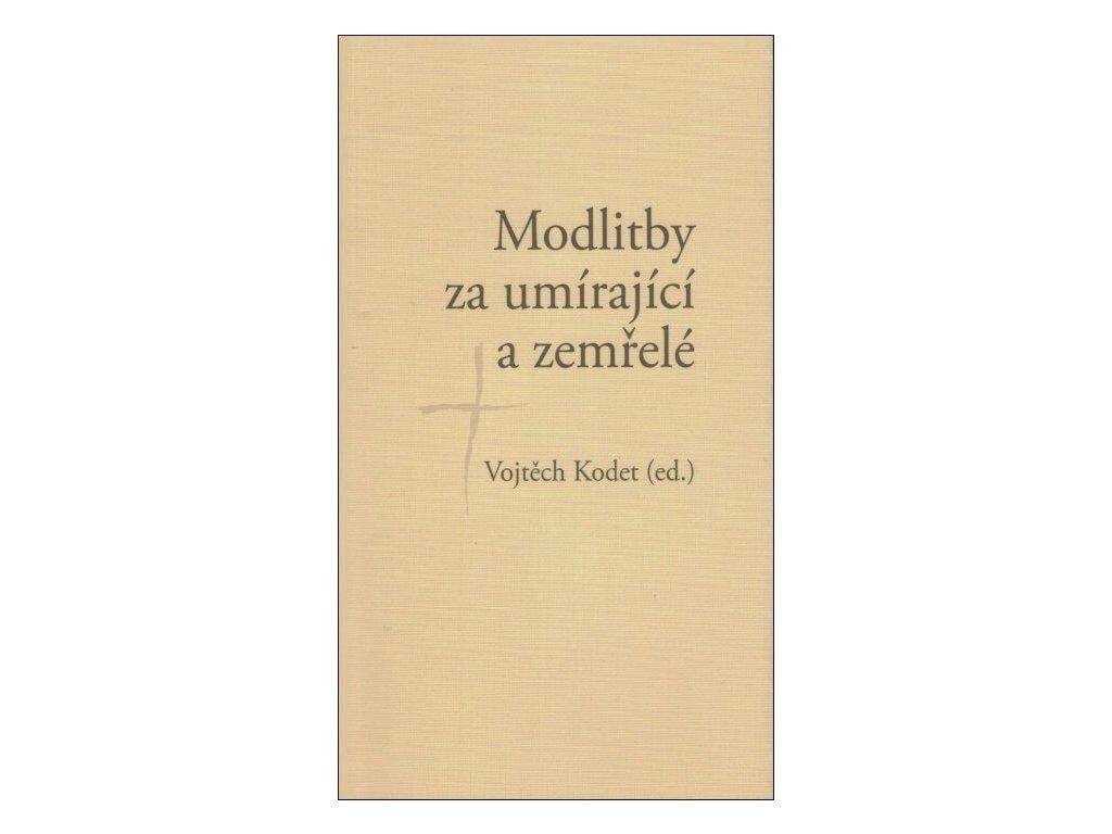 318 Kodet Modlitby za umírající a zemřelé 9788075660459 01