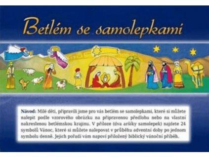 1348 Betlem se samolepkami 01