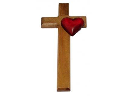 1402 Zaex Kříž hnědý Basic, srdce 1