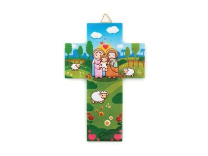 1426 Zaex Dětský kříž sv. rodina