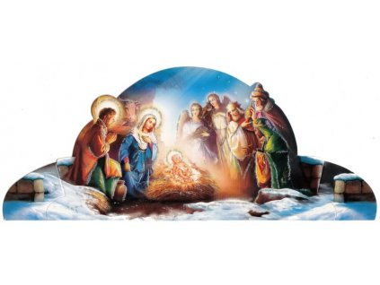 1430 Zaex Skládací Betlém 3králové
