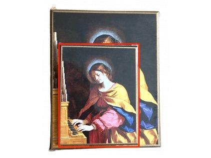 1457 Obrazek sv. Cecilie M SlovoProTebe.cz Česvel
