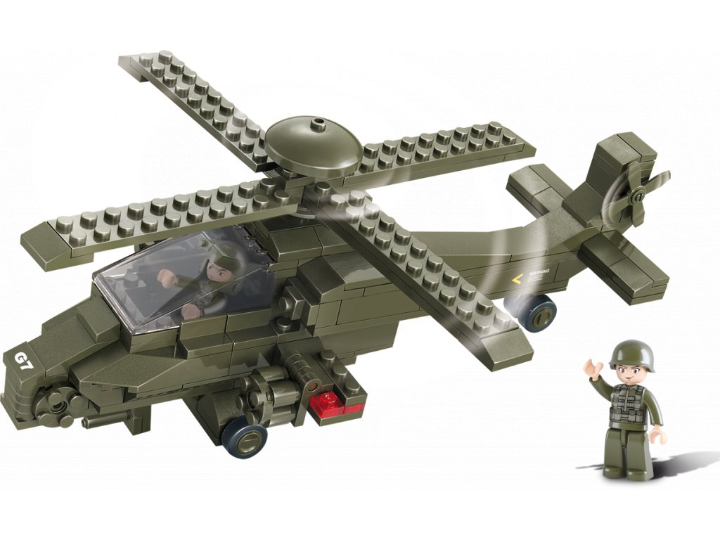 Sluban Army M38-B0298 Útočná helikoptéra G7