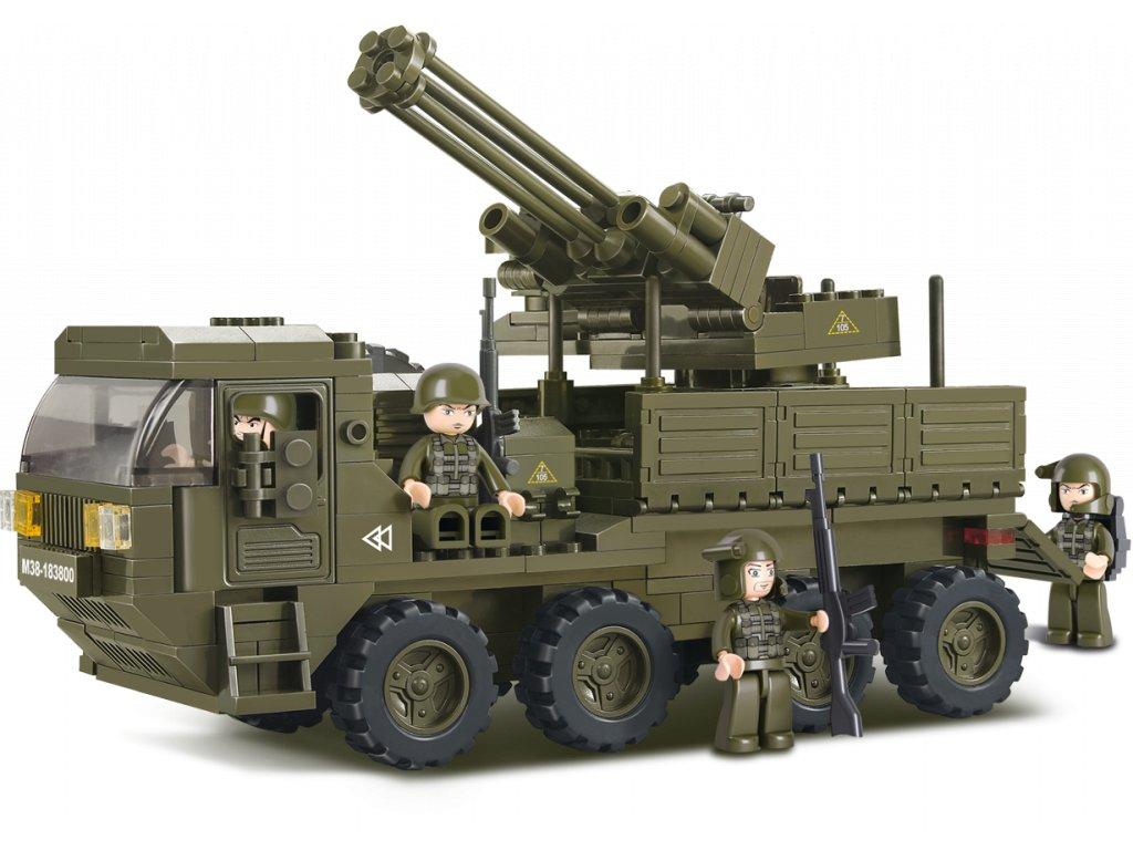 Sluban Army M38-B0302 Protiletecká zásahová jednotka