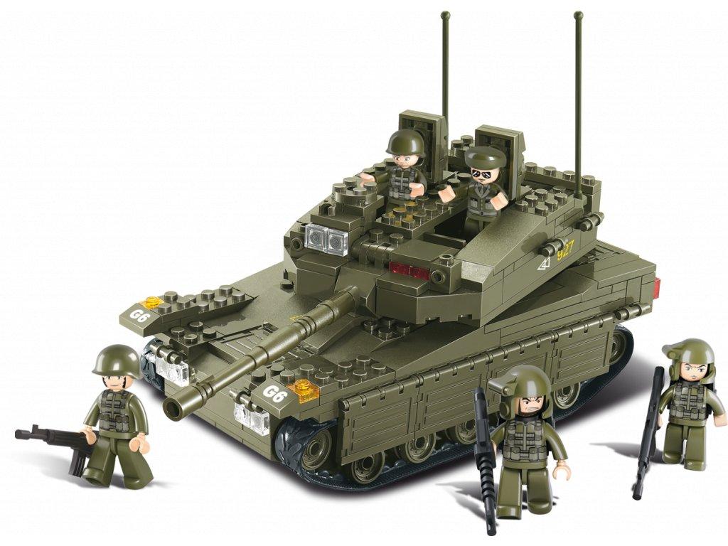 Sluban Army M38-B0305 Tank Merkava