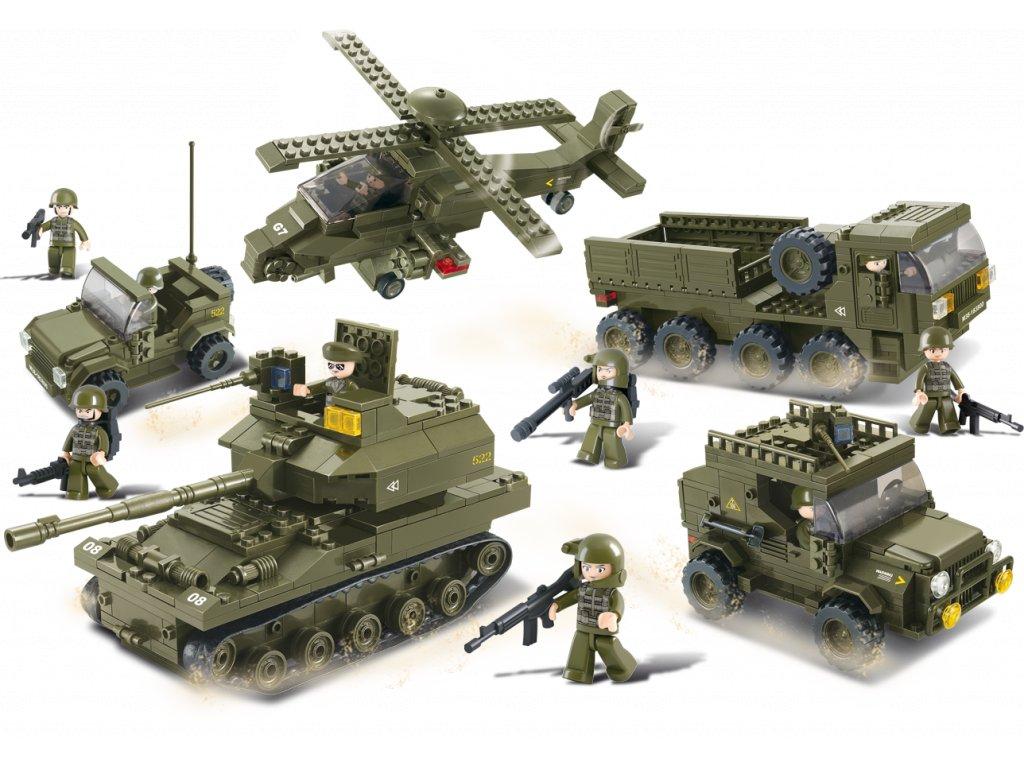 Sluban Army M38-B0311 Army sada