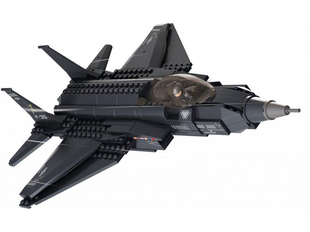 Sluban Army M38-B0510 Stíhačka Lightning II