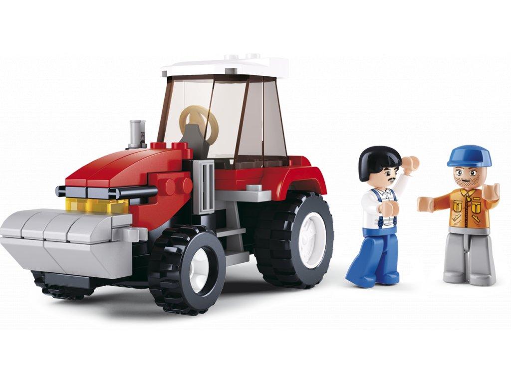 Sluban Town Farma M38-B0556 Traktor