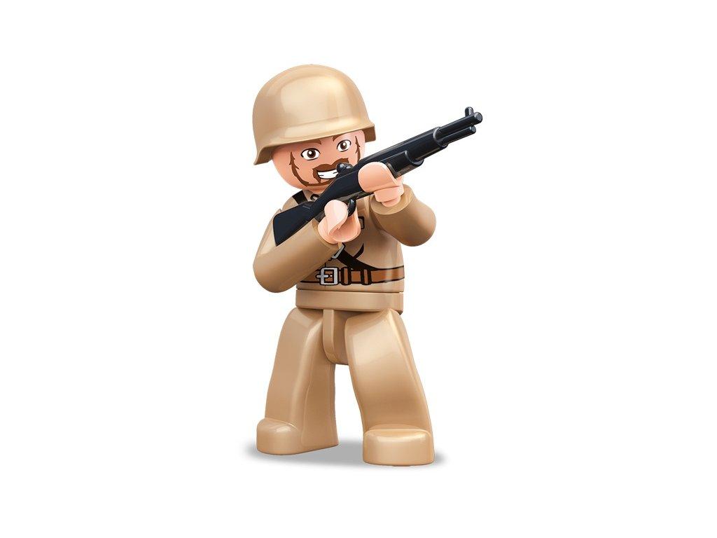 Sluban ARMY Figurky M38-B0582A WW2 Sovětský voják