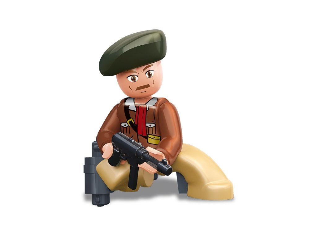 Sluban ARMY Figurky M38-B0582D WW2 Americký voják