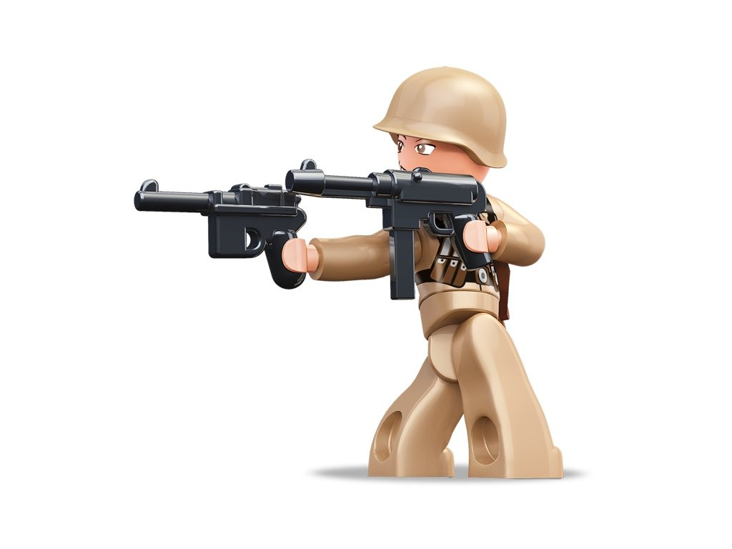 Sluban ARMY Figurky M38-B0582G WW2 Francouzký voják