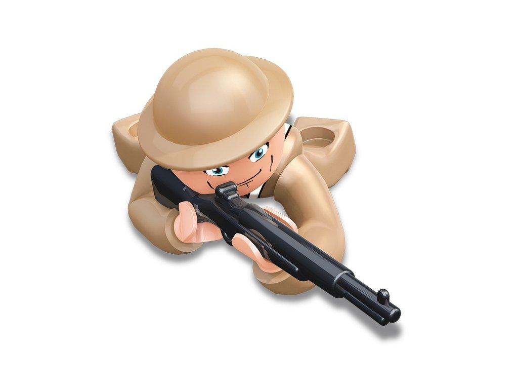 Sluban ARMY Figurky M38-B0582J WW2 Anglický voják