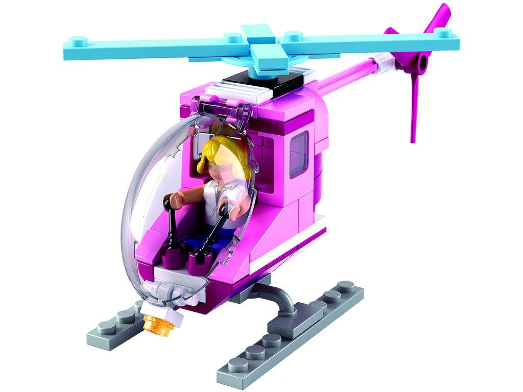 Sluban Girls Dream Holidays M38-B0600D Plážový vrtulník