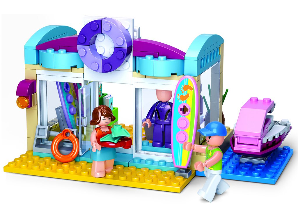 Sluban Girls Dream Holidays M38-B0603 Obchod pro vodní sporty