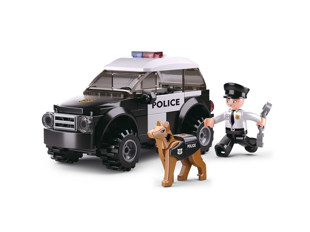 Sluban Policie M38-B0639 Hlídka se psem