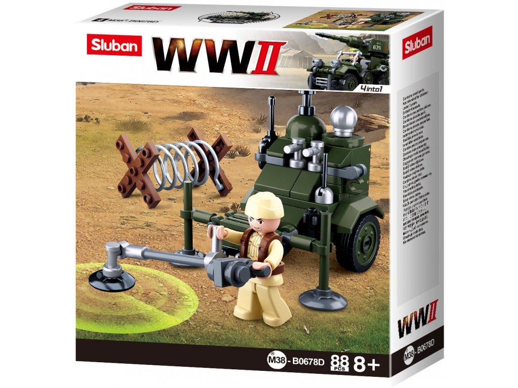 Sluban WWII M38-B0678D 4into1 Detektor min