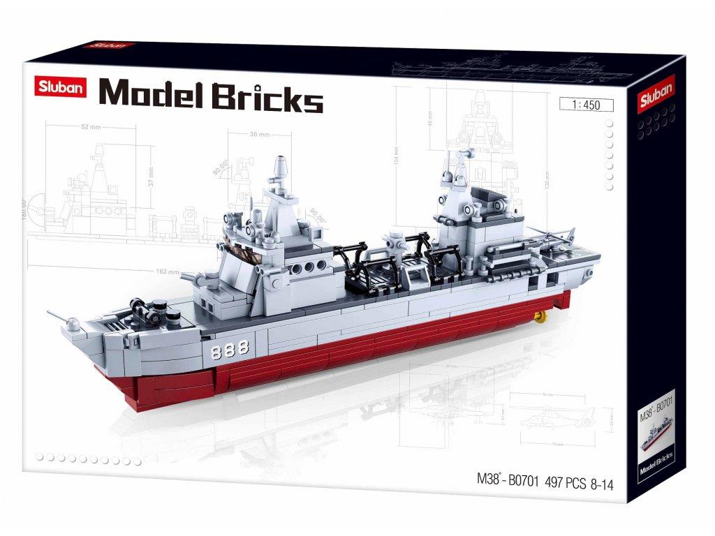 Sluban Modely M38-B0701 Zásobovací loď
